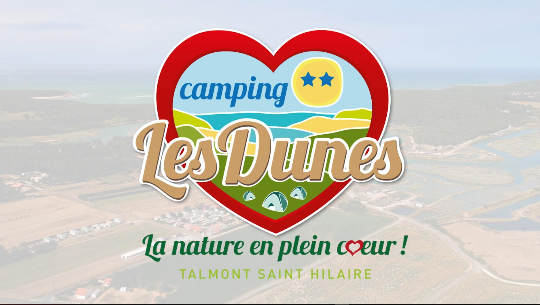 Vidéo Les Dunes camping Talmont-Saint-Hilaire 85